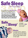 Safe Sleep for Your Baby Infographic (Vertical)