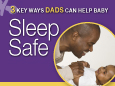 Infographic: Dads-Help Baby Sleep Safe